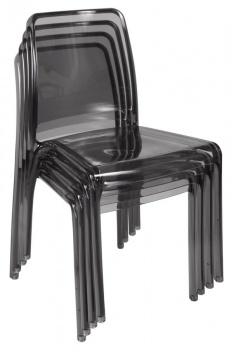 Clarity Translucent Chair (Set of 4)